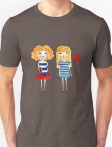 marine girls Unisex T-Shirt