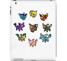 Pixel Eeveelutions iPad Case/Skin