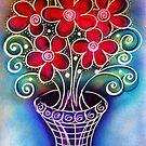 Vase of Whimsy by MelDavies