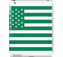 Weed American Flag iPad Case/Skin