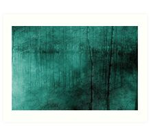 Cypress Bayou Abstract Art Print