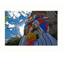 Balboa Park Colorful Statue--San Diego Art Print