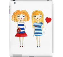marine girls iPad Case/Skin