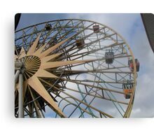 Here we go round in circles... Metal Print
