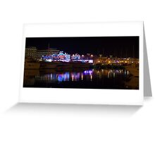 Casino Waters - Alicante Greeting Card
