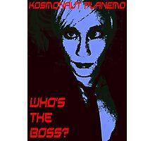 Who's the boss? Photographic Print