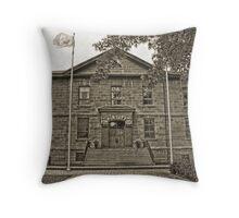 Cornwall Jail, Cornwall, Ontario Throw Pillow