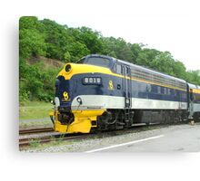 Old Commuter Train Metal Print