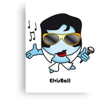 Elvis Ball Canvas Print