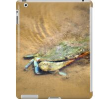 Blue Crab Hiding in the Sand iPad Case/Skin