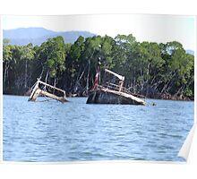 trinity inlet wrecks Poster
