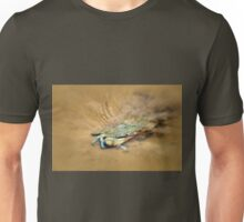 Blue Crab Hiding in the Sand Unisex T-Shirt