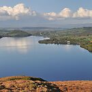 Ullswater panorama by Peter Hammer