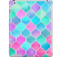 Bright Moroccan Morning - pretty pastel color pattern iPad Case/Skin