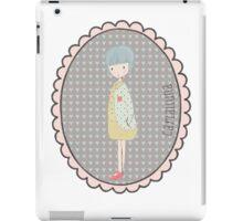 Little Marta illustrated by Carlalluna.es iPad Case/Skin