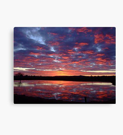 """Stock""dawn. Canvas Print"