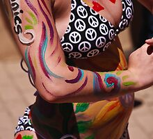 Body Art for the Parade by doorfrontphotos