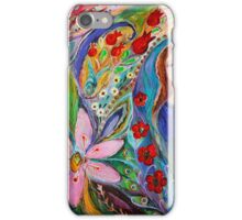 Leah and Flower of Mandragora iPhone Case/Skin