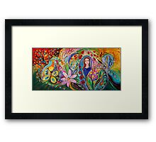 Leah and Flower of Mandragora Framed Print