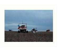 Cley-Next-The-Sea Sunset Art Print