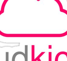 Cloud Kicker - Pinky Sticker