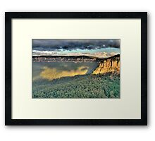 Shadows & Light  # 2 - Blue Mountains World Heritage Area - The HDR Experience Framed Print