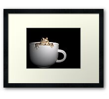 Cup Of Toad Framed Print