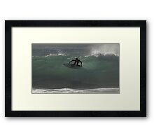 Surfing Currarong #4 Framed Print