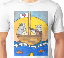 The Owl and The Totoro Unisex T-Shirt