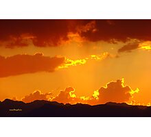 The Day Burning Away Photographic Print