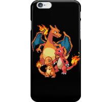 Charmander Evolutions iPhone Case/Skin