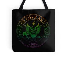 State of Love and Trust Tote Bag