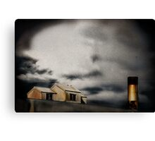 under the wire - forgotten Canvas Print