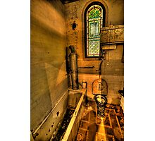 Old Style Convenience - Turkish Baths, Wynstay Estate,- The HDR Experience Photographic Print