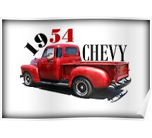1954 Chevy Poster
