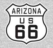 Arizona Route 66 Baby Tee