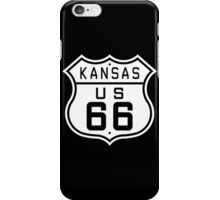 Kansas Route 66 iPhone Case/Skin