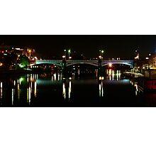 Swanson St Bridge Photographic Print
