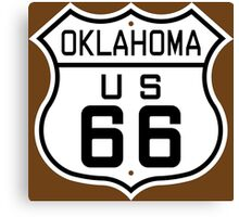 Oklahoma Route 66 Canvas Print