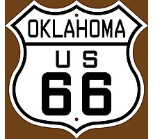 Oklahoma Route 66 Photographic Print