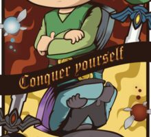 CONQUER YOURSELF Sticker