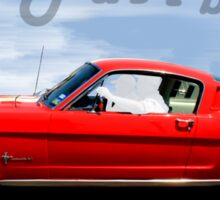 1965 Ford Mustang Fastback Sticker