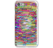 Positive Dictionary - English : Color 3 iPhone Case/Skin