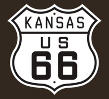 Kansas Route 66 by ianscott76