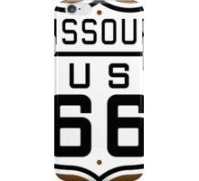 Missouri Route 66 iPhone Case/Skin