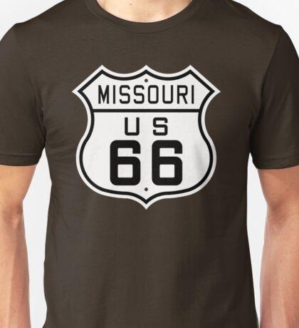 Missouri Route 66 Unisex T-Shirt