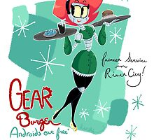 Gear Burger by Razska