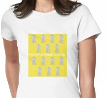 Old Yella Womens Fitted T-Shirt