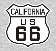 California Route 66 One Piece - Short Sleeve