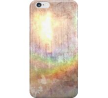 Sunlit Rainbow Grunge iPhone Case/Skin